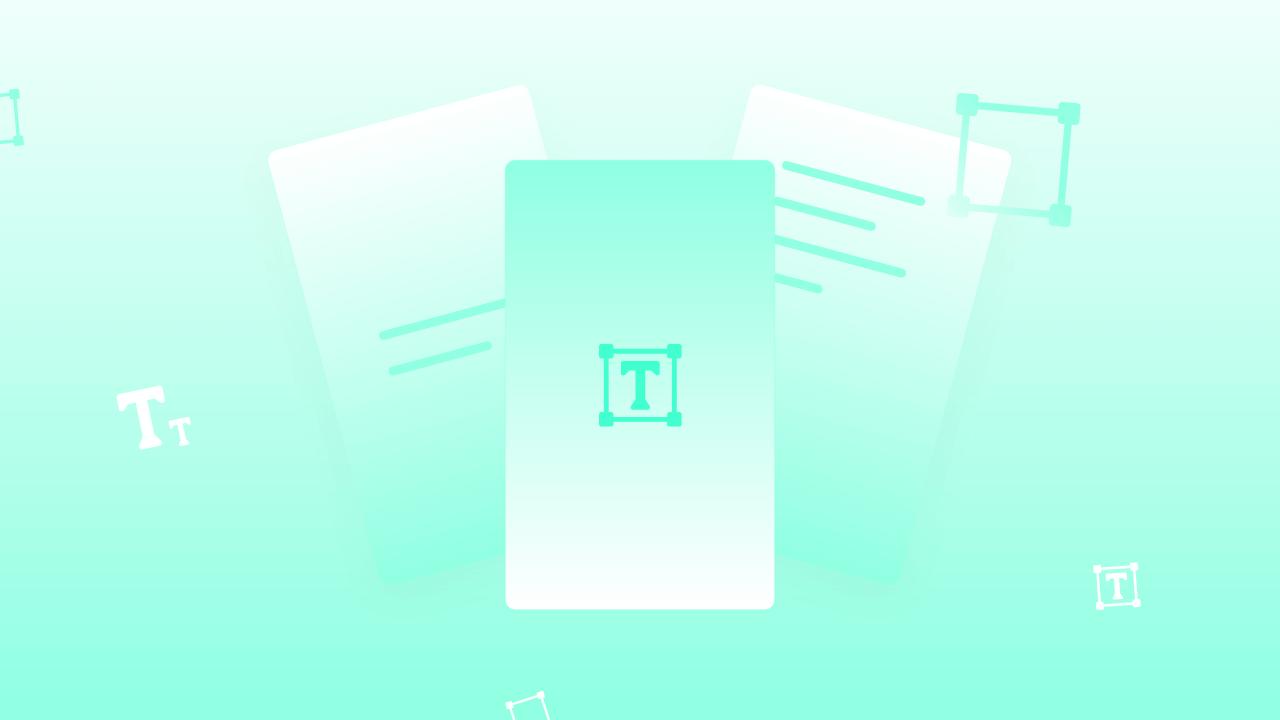 Text Elements in MakeStories